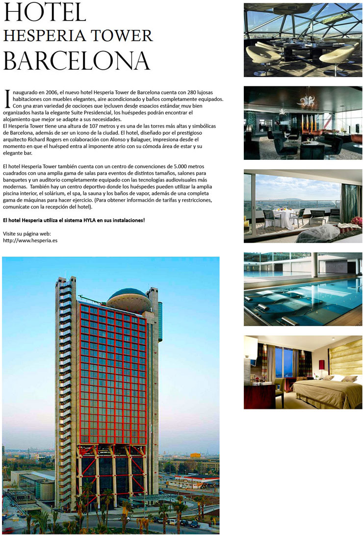 Hotel Hesteria Tower Barcelona